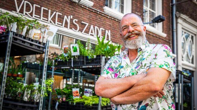 Ton Vreeken Vreeken's Zaden Dordrecht winkel - Jeffrey Groeneweg QPhoto AD De Dordtenaar