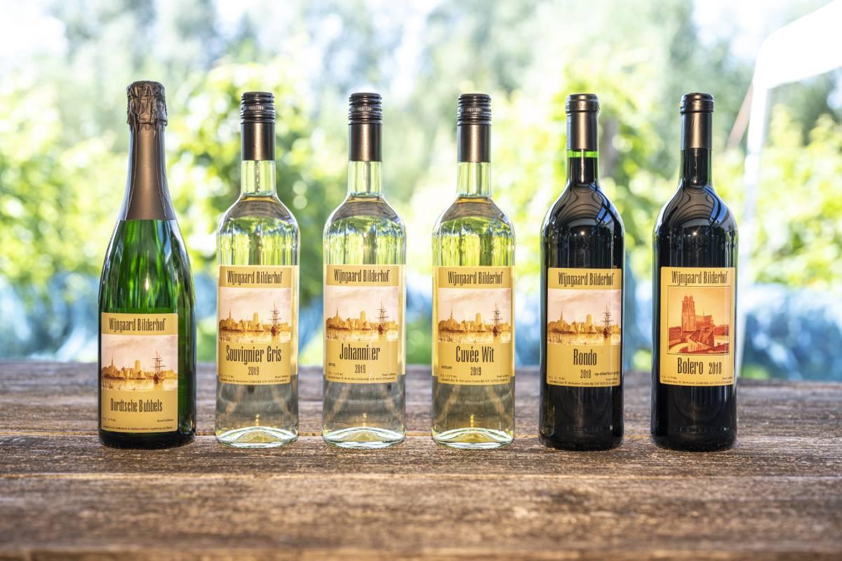 wijnproeverij bestellen wijn afhalen Wijngaard Bilderhof Dordrecht Zeedijk
