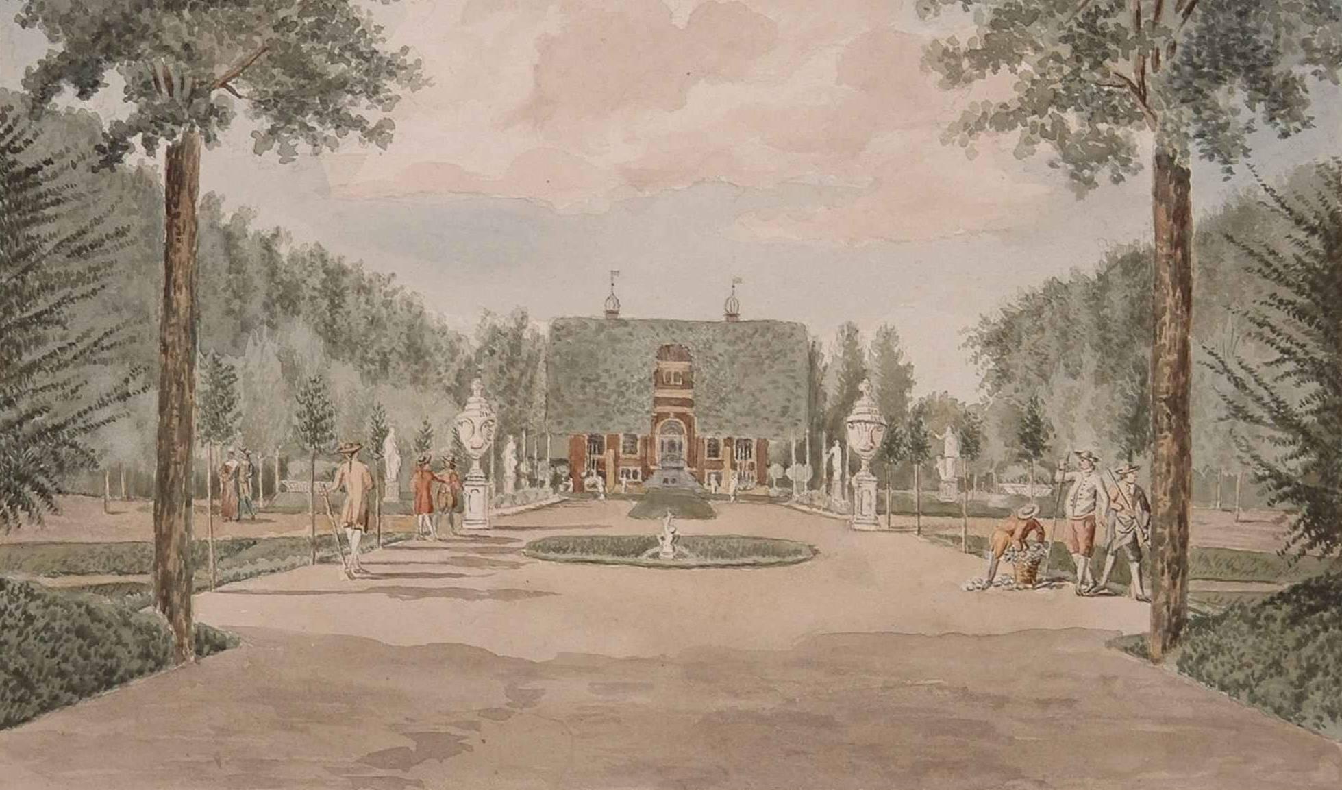 Landhuizen landgoederen villa's Dordrecht Huis op Dubbelsteyn - Regionaal Archief Dordrecht (1)