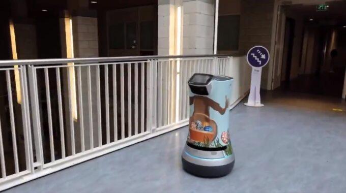 Paashaasrobot zorgrobot Albert Schweitzer ziekenhuis Dordrecht