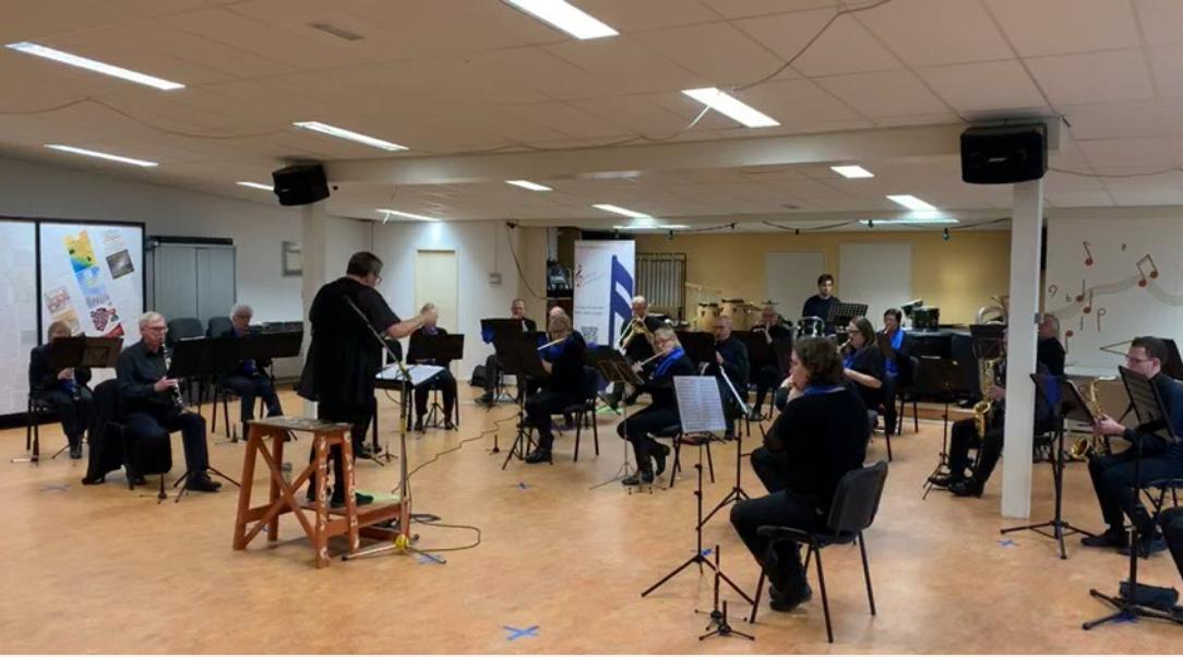 Drechtstad Muziekvereniging Klokschuifoncert oktober 2020