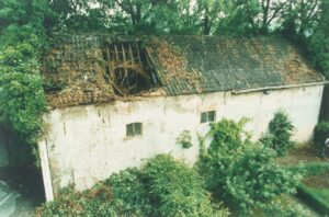 Garage Villa Weizigt landgoed Dordrecht