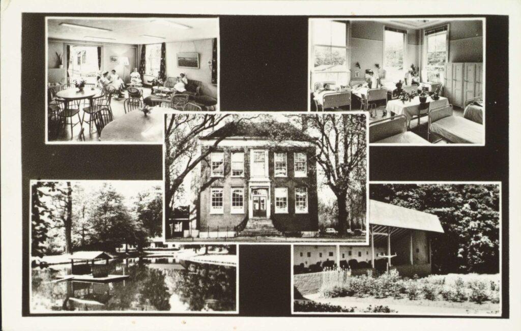 Villa Weizigt Dordrecht als sanatorium in gebruik