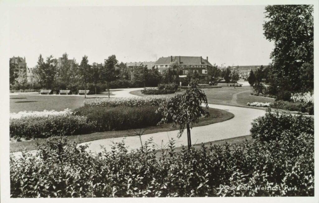 Weizigtpark jaren 50 Dordrecht