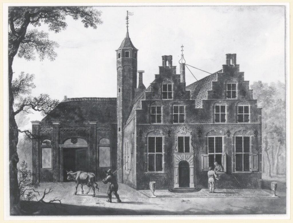 Huize Dordwijk aquarel - Regionaal Archief Dordrecht