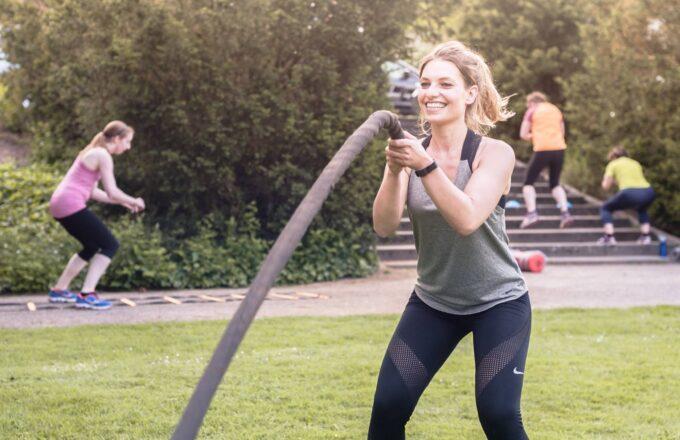 Charda Stevanov Believe In Outdoor training Wantijpark Dordrecht Dion Doornik