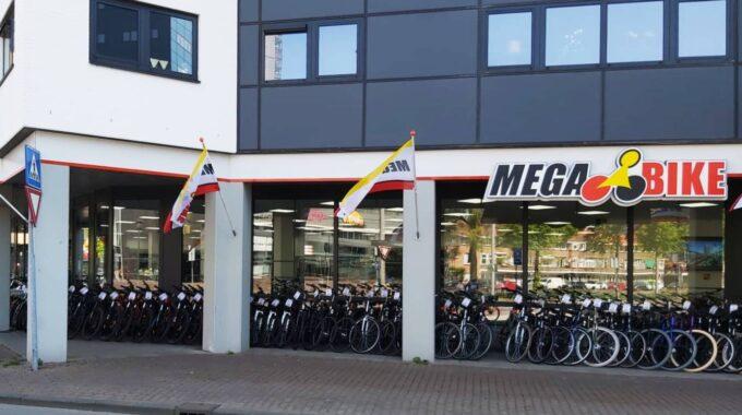 Mega Bike Spuitboulevard Dordrecht fietsenwinkel centrum