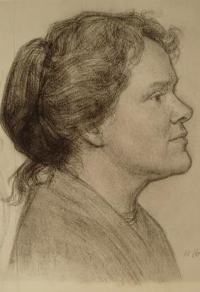 Lenie Dicke tekening Dordrecht