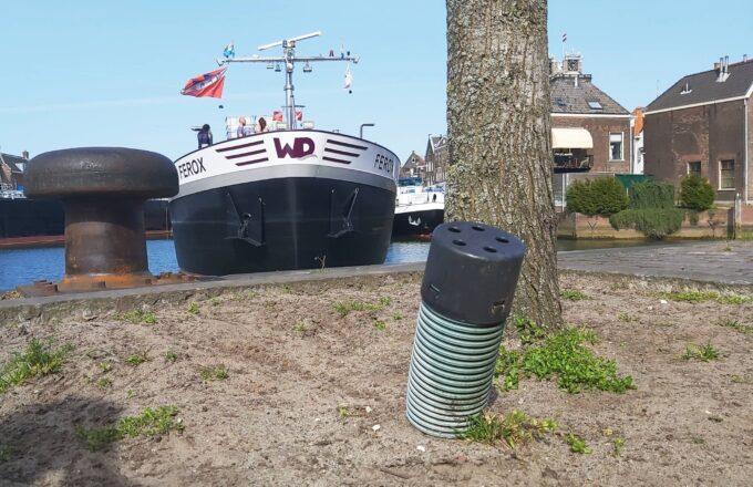 Drainagebuizen bomen Dordrecht buizen