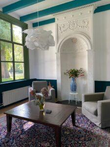 Villa TrösT Drechtsteden Dordrecht rouwverwerking inloopspreekuur Dubbeldamseweg Zuid De Essenhof ontvangstruimte