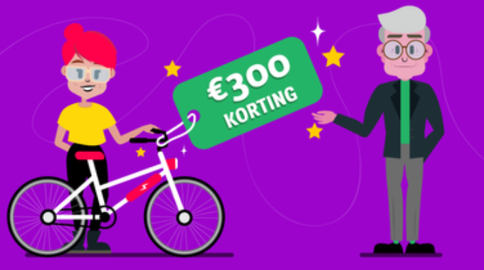 Ways2go korting e-bike elektrische fiets