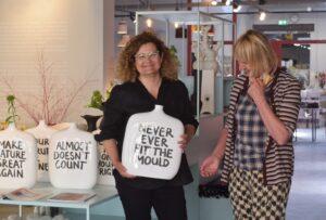 ByBranderhorst etalage winkel Voorstraat-Noord binnenkijken Dordrecht concept store cadeaus