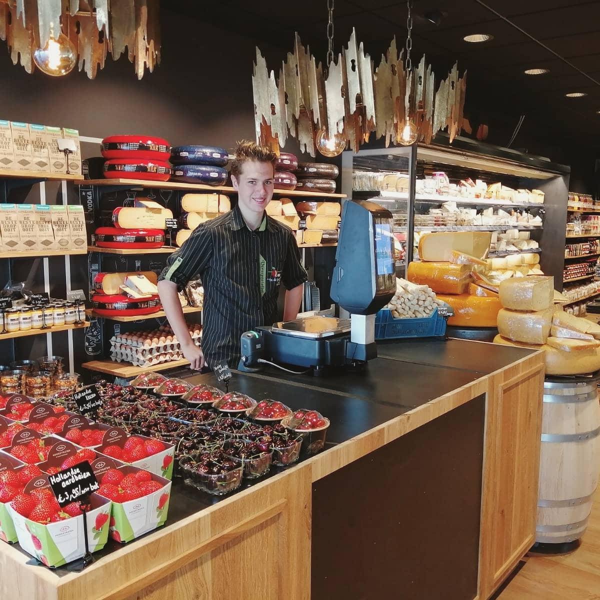 Verswinkel In de Bogaard Dordrecht Dubbeldam Damplein groente fruit aardappels Corné van den Bogaard