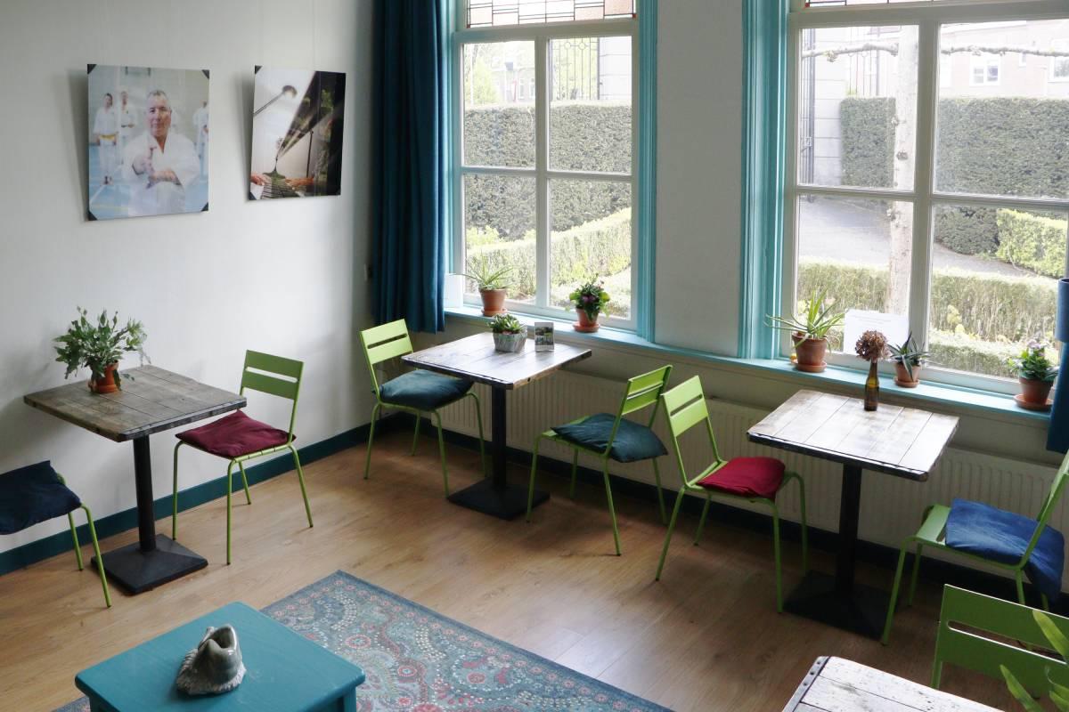 Villa TrösT ontvangstruimte rouwverwerking Dordrecht De Essenhof lotgenoten
