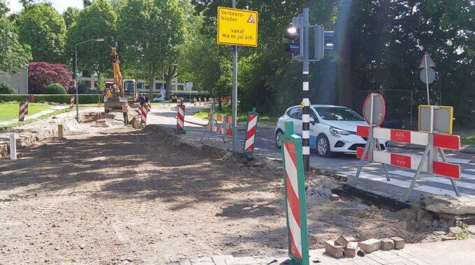 Wegwerkzaamheden verkeer Dordrecht