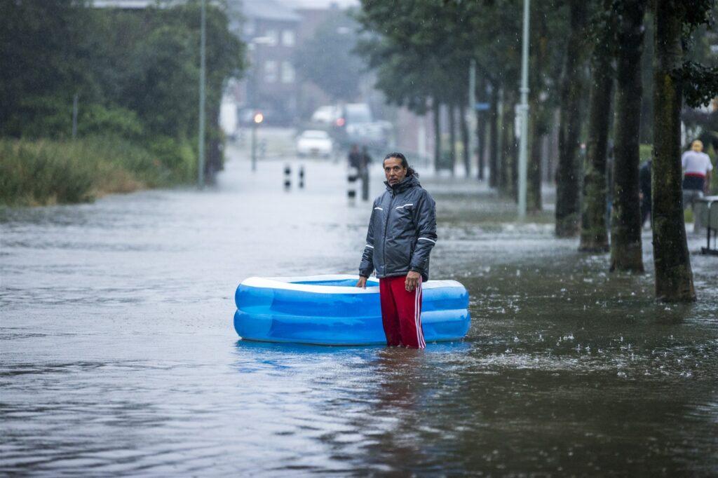 Hoogwater Limburg overstroming