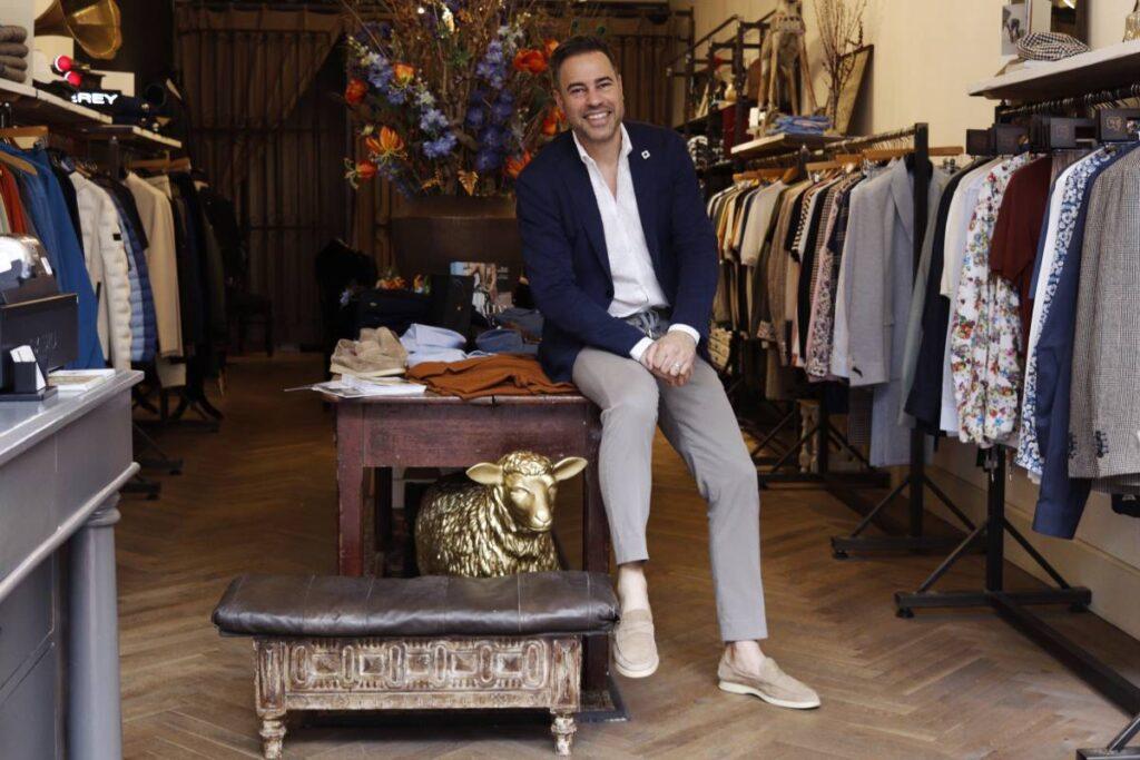 Mark Habets PIN Voordeel Habets Herenmode Italiaans design