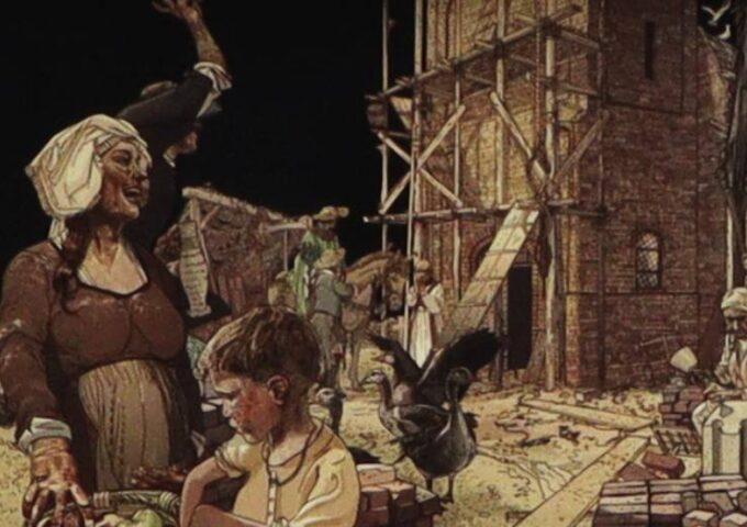 Sint Elisabethsvloed Dordrecht 1421 Kruiskerke Cruiskerken Cruyskerke