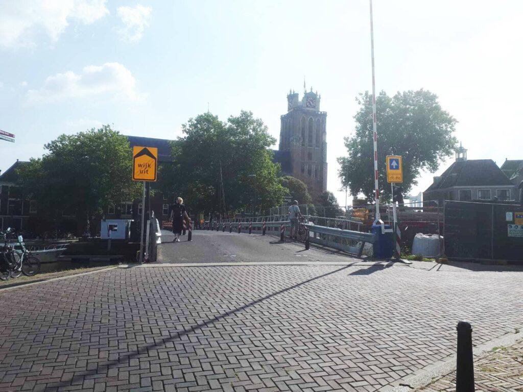 Engelenburgerbrug wegwerkzaamheden Dordrecht omrijden