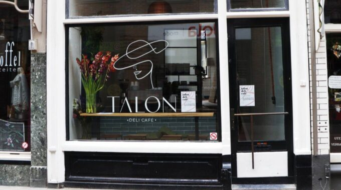Talon Deli Cafe Dordrecht koffierestaurant Voorstraat