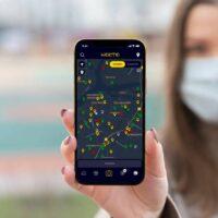Nocto app - stoplichtsysteem horeca Dordrecht druktemeter
