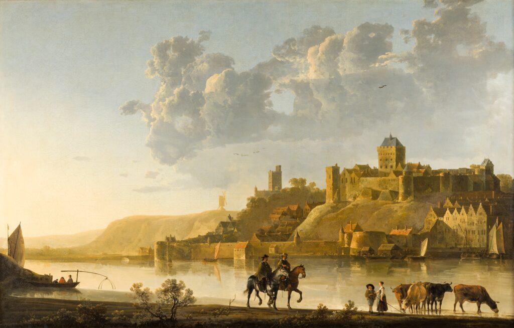 A. Cuyp, De Valkhof te Nijmegen, ca. 1660, Woburn Abbey Collection