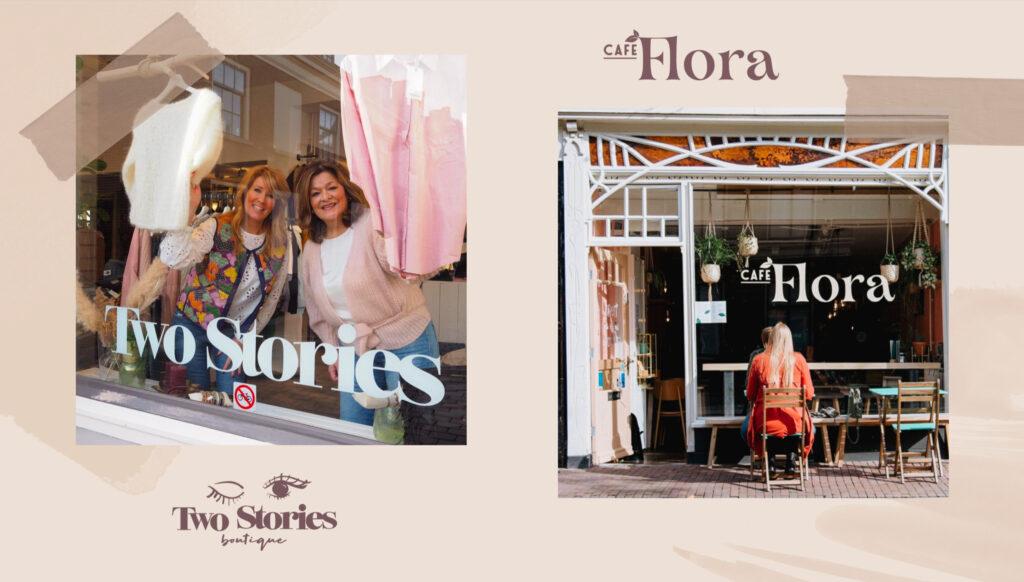 Two Stories Boutique en Cafe Flora Dordrecht Pakt Uit 2021 programma acties