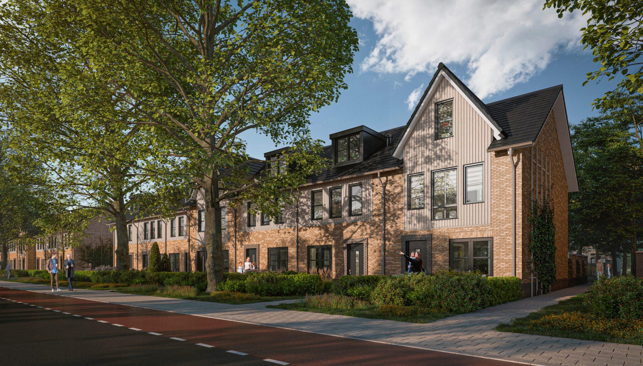 Amstelwijck Park eengezinswoningen nieuwbouwproject Dordrecht Refaja Fase 2