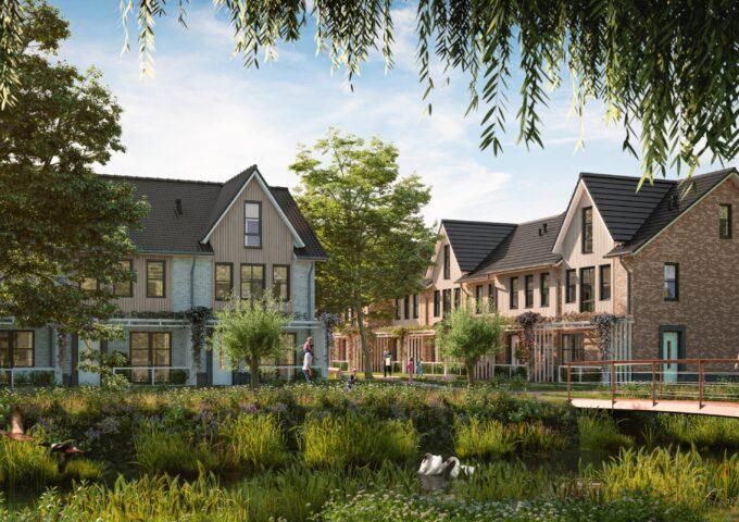 Amstelwijck Park eengezinswoningen nieuwbouwproject Dordrecht Refaja - Fase 2
