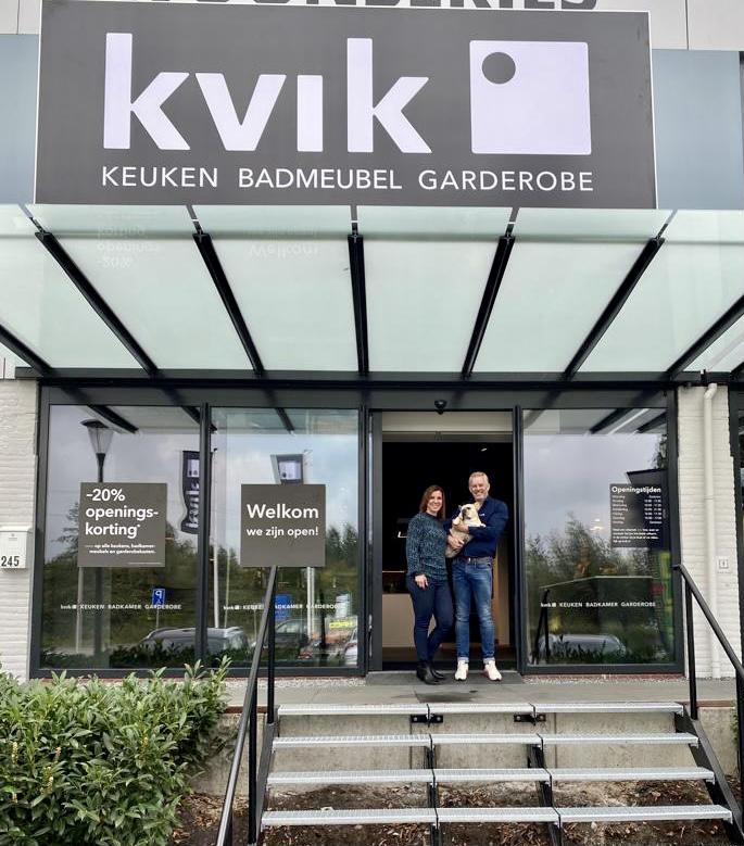 Kvik Sliedrecht Deens design keukens badkamermeubels garderobekasten duurzaam