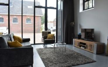 Zitgedeelte huis Thijs Gijs