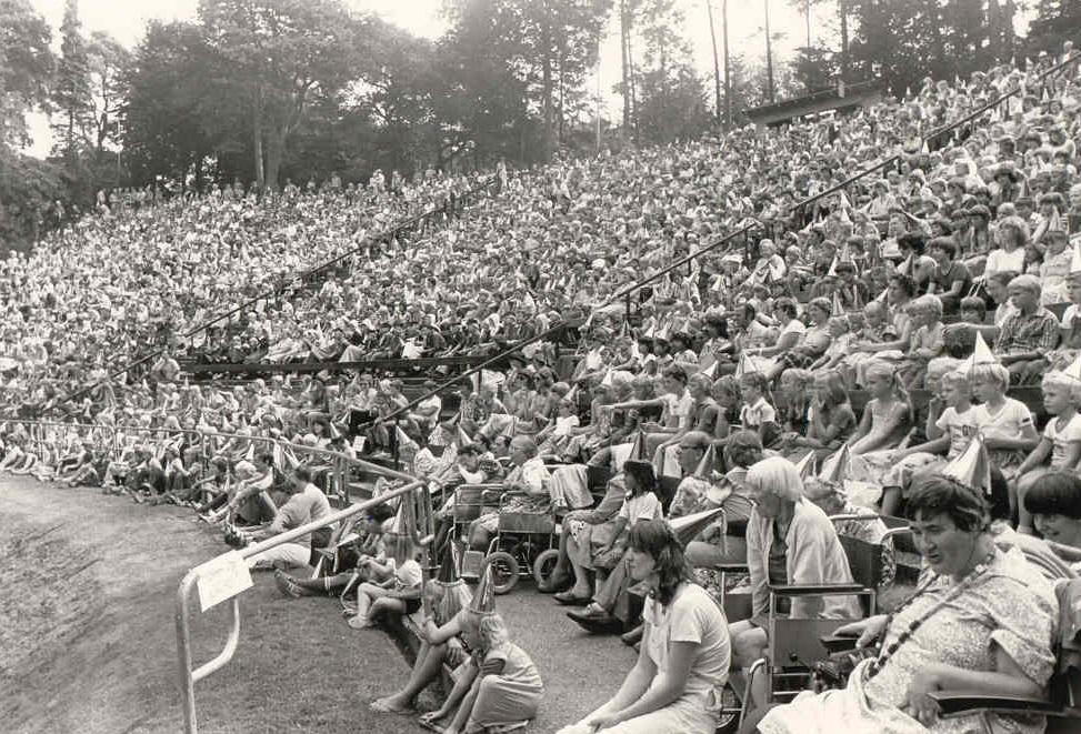 Kindermiddag Heideweek 1980