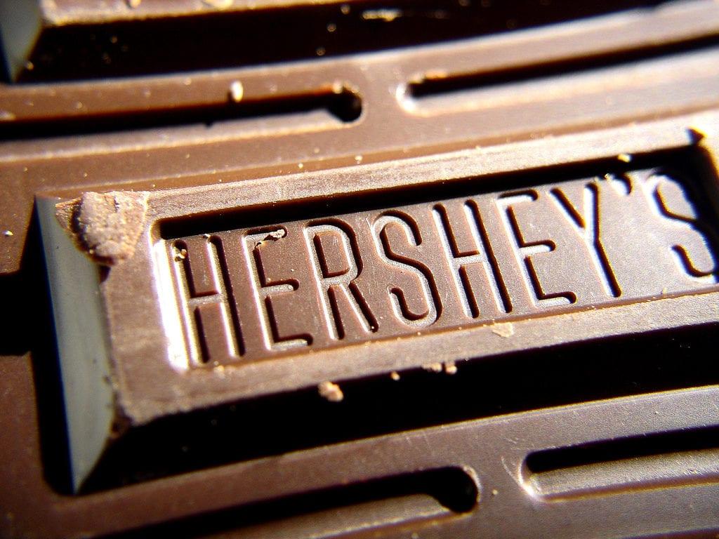 hershey chocoladereep