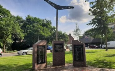 Monument bombardement Ede-Zuid