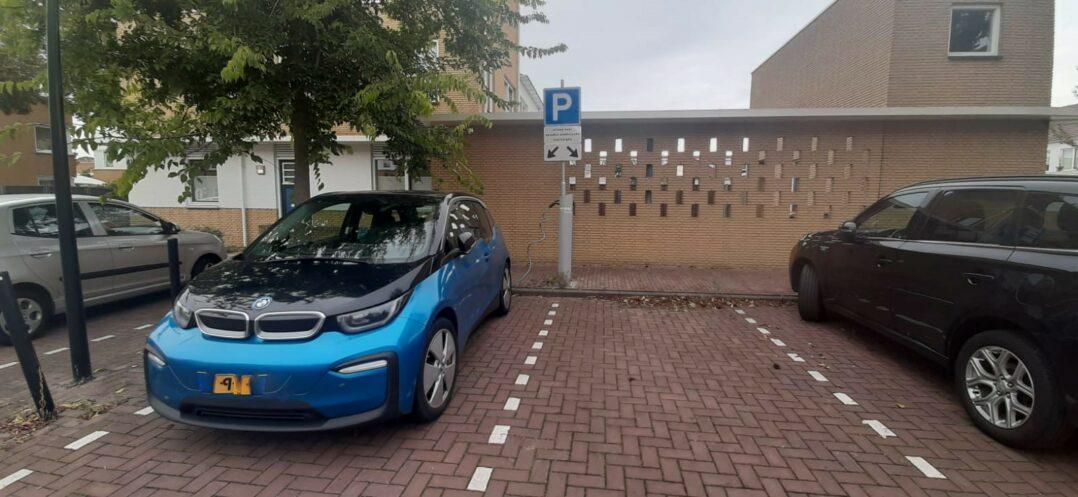 Oplaadpaal voor elektrische auto's in Ede-Zuid