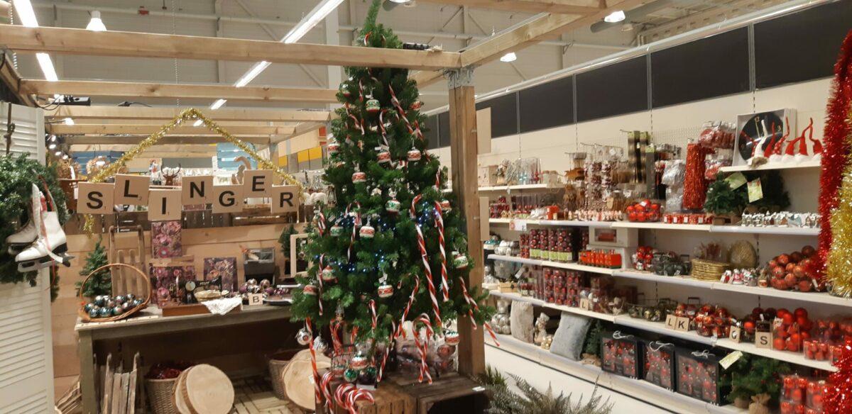Een kerstboom vol snoep