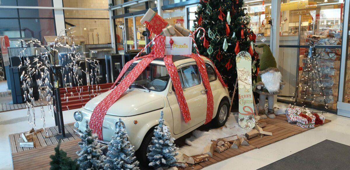 Geraamte van een kerstboom