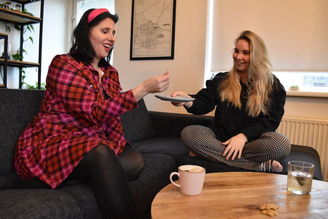 Koffie thee koek vriendinnen