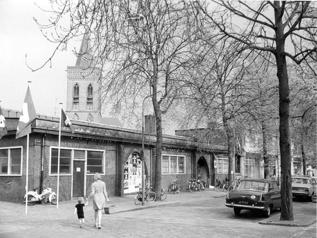 De oude markthal