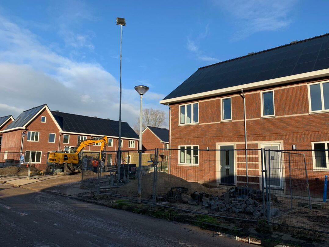 Nieuwbouw winkelcentrum Lindenhorst