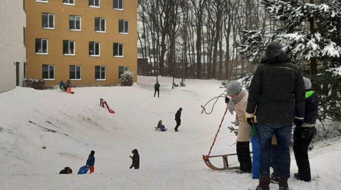 Sneeuw Ede