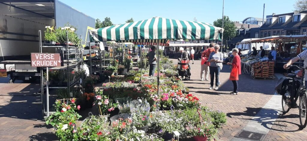 Markt maandag Ede centrum