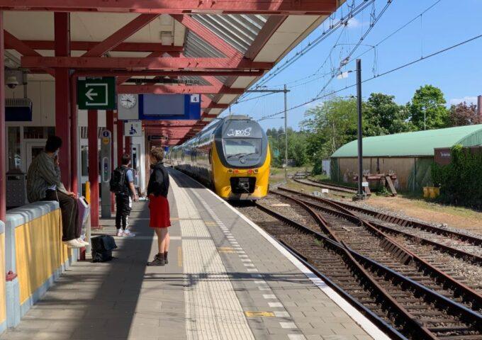 Storing trein Ede-Wageningen