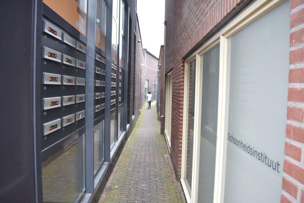 Steegje Grotestraat Bunschoterplein