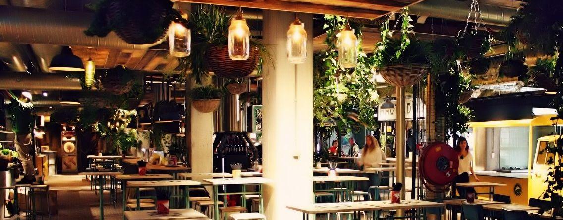 Down Town Gourmet Market. Goedkoop eten in Eindhoven