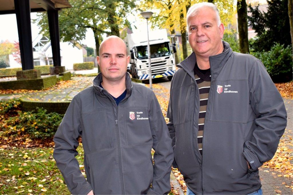Trots op Eindhoven Dennis en Harrie