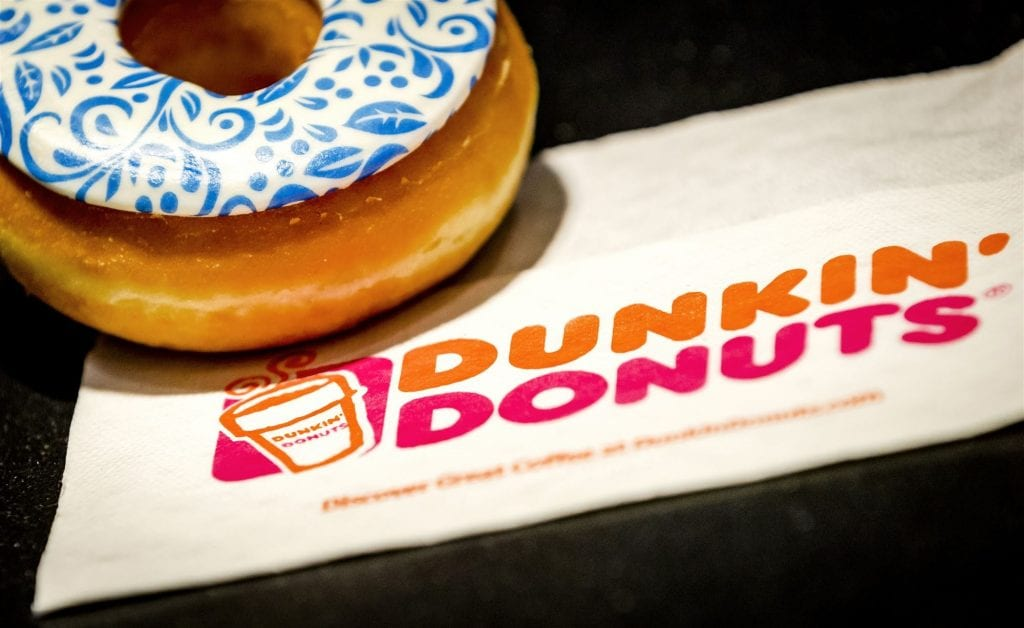 Dunkin donuts in Eindhoven