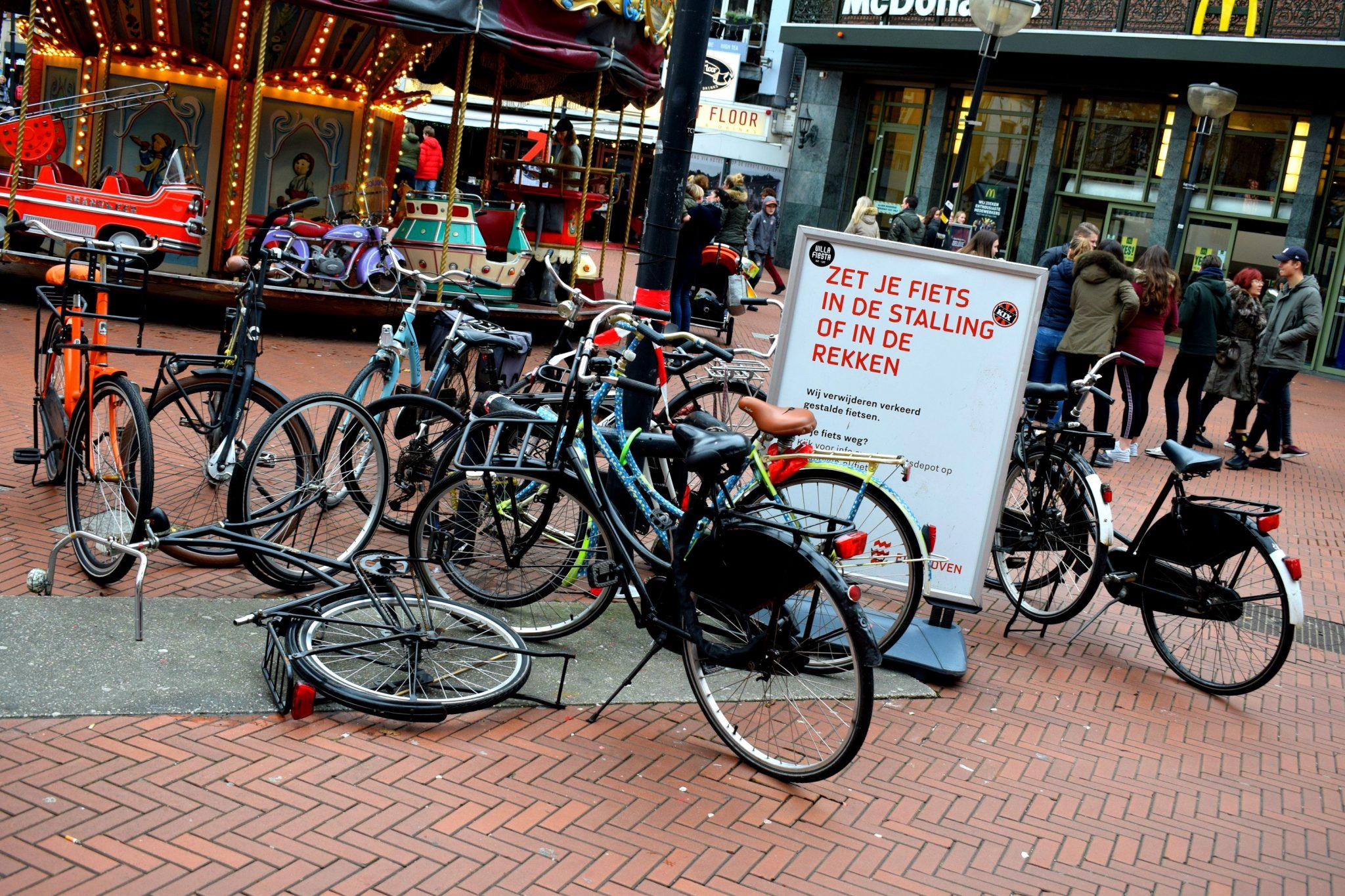 Verkeersboetes fietsers