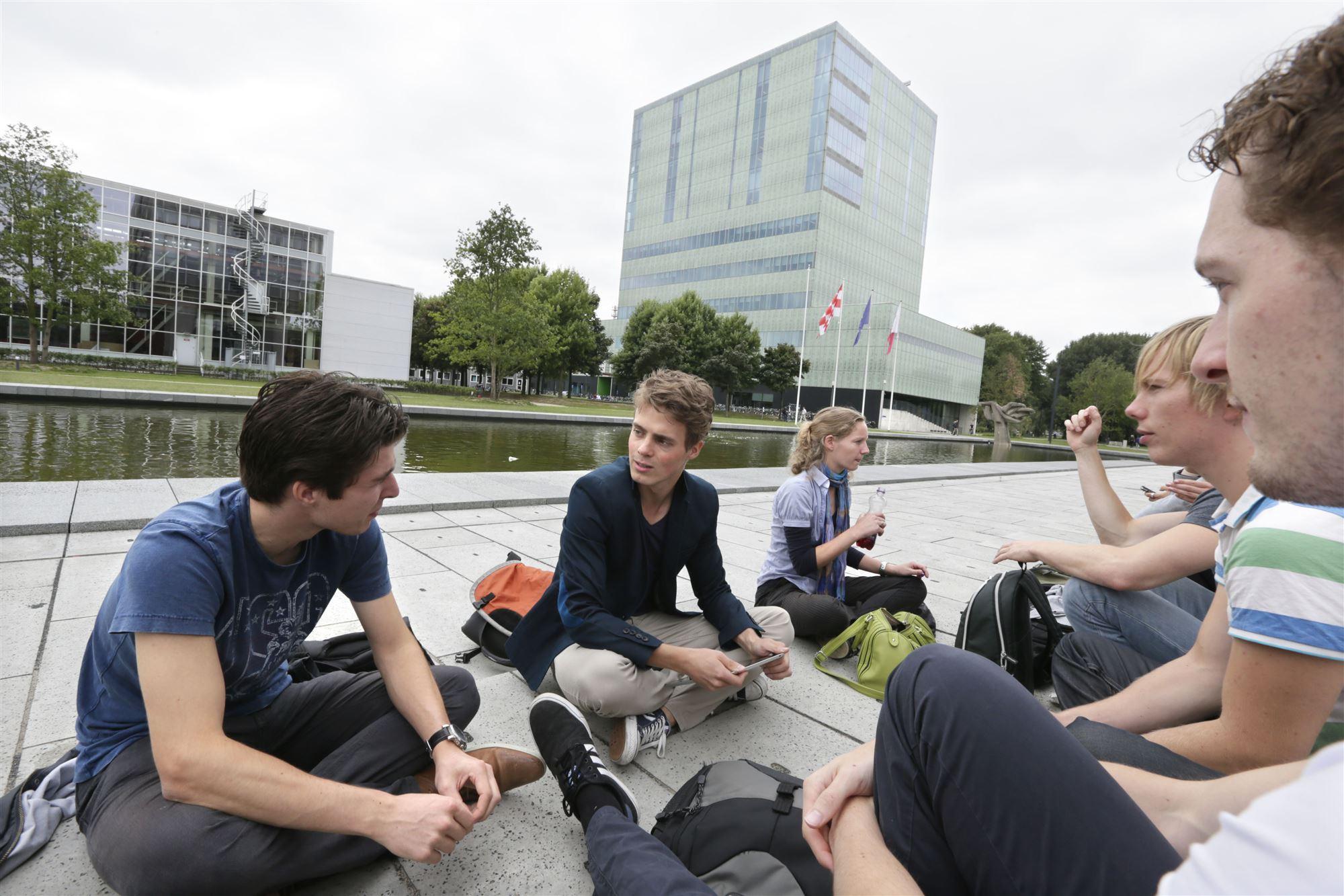 Studenten in Eindhoven
