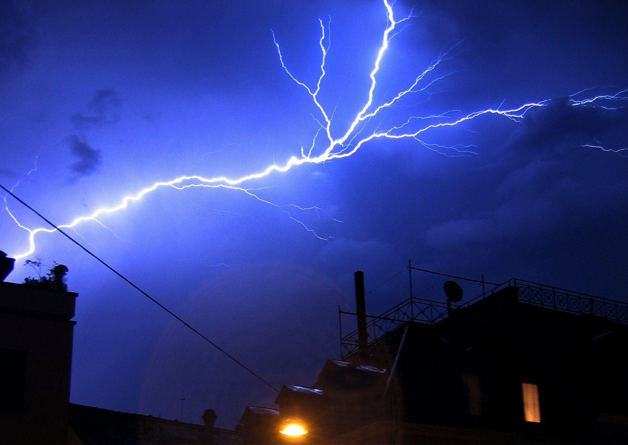 Onweer Eindhoven